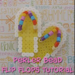 Step into summer already by making these cool Perler bead flip flops. By our I Sweat Glitter contributor kinworm. http://crafting.squidoo.com/perler-bead-flip-flops
