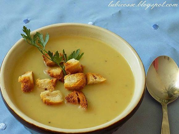 Zupa ziemniaczana z czosnkiem wg Ewy Wachowicz