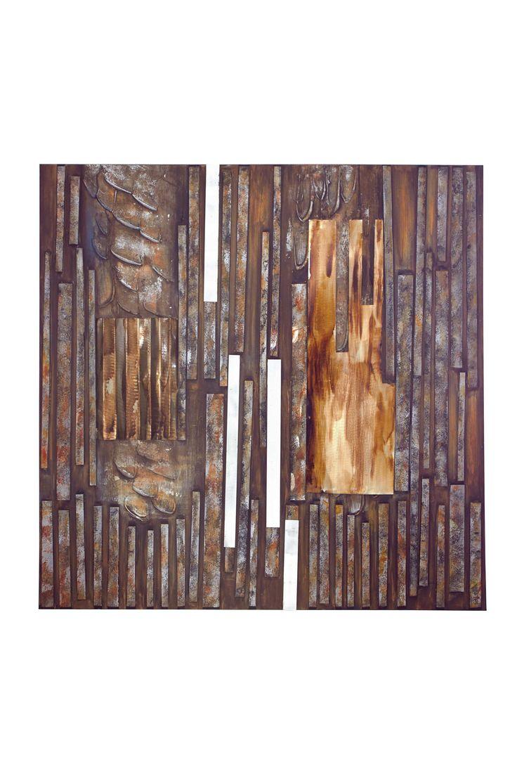 The Hidden Wood Metal Canvas Art