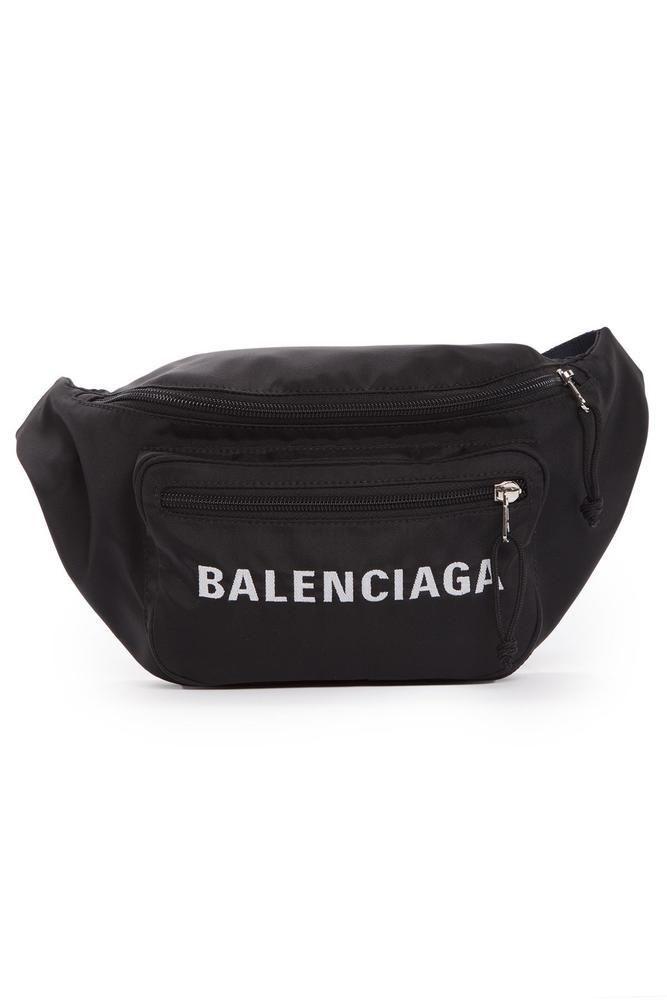 BALENCIAGA BALENCIAGA LOGO BELT BAG.  balenciaga  bags  belt bags   polyester  nylon 6dbd8c1c74766