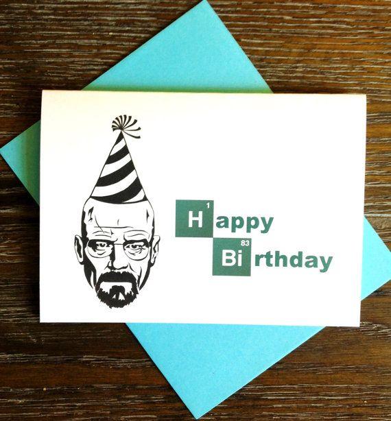 Breaking bad birthday card | Etsy