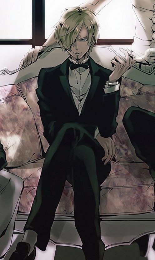 "Vinsmoke ""Blackleg"" Sanji, cool, suit, outfit; One Piece"