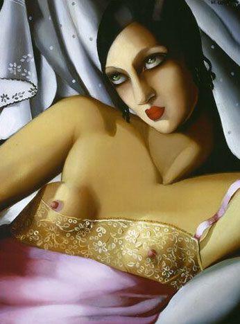 painting by Tamara de Lempicka
