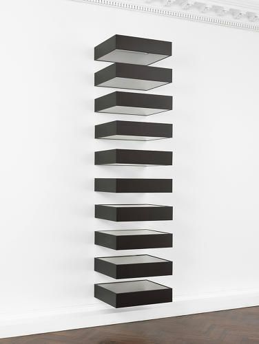First ever exhibition devoted to donald judd 39 s minimalist for Minimalist art pieces