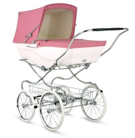 Vintage Pink Pram! If I ever have a little girl... I mhad one in England for my daughter, love them!