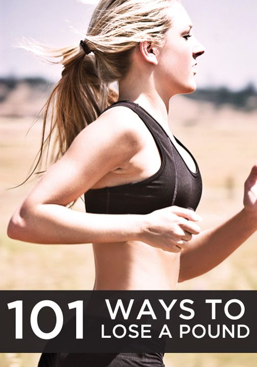 Check out all these ways to lose a pound!
