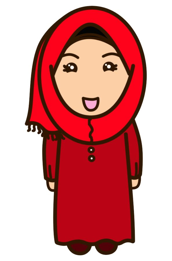 HANIMOFA: Once Upon a Time: Muslimah Cartoon