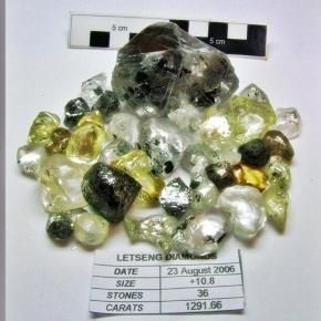 Liberia economy sure to get big boost from latest diamond find.