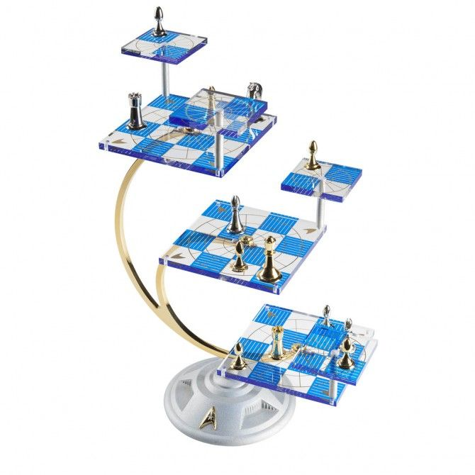 Star Trek 3-Dimensional Chess Set | Star Trek Official Store