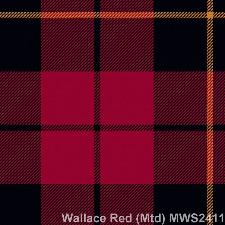 Muted Red Wallace Available for men & boys