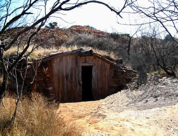 a small cabin