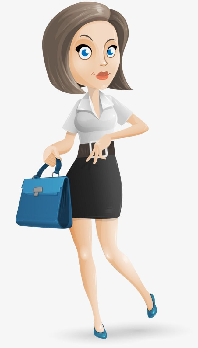 cartoon woman clip art - 650×1144