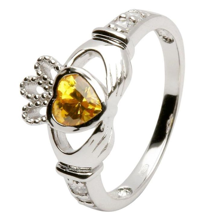 November 2013 Giveaway: Win a November Claddagh Birthstone Ring. Click the link to enter.
