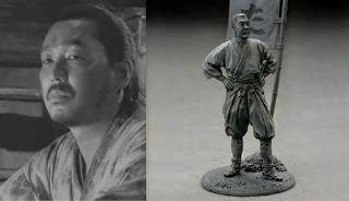 1/35 Akira Kurosawa's Seven Samurai (七人の侍)   Jen & Ben's wargaming figures