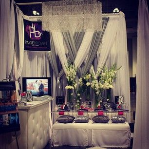 Paige Brown Designs Instagram photos @paigebrowndesigns - EnjoyGram, bridal show booth, upscale bridal show booth