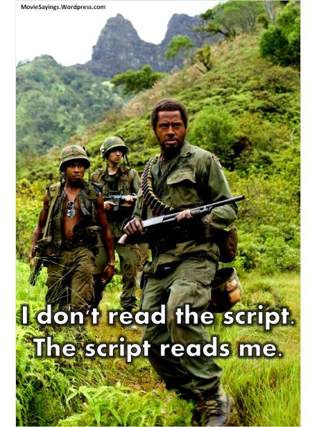 30 Top Tropic Thunder Quotes That Will Make You Laugh | Humoropedia