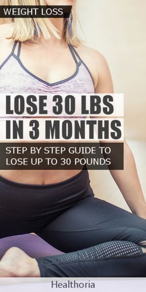 Lose 30 Pounds In 3 Months – Step By Step Guide