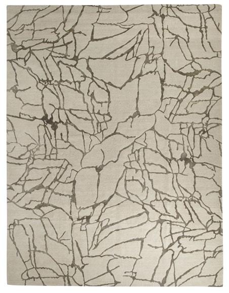 tracery wool rug by kelly wearstler