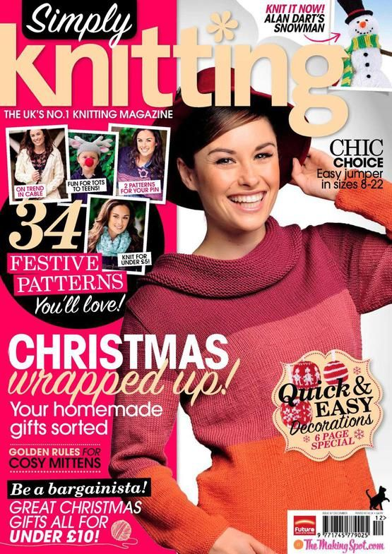 Simply Knitting+Simply Crochet+Knitting Magazine+Festive Knits to Gift 2011 wwsimply-knitting-2011-12_1