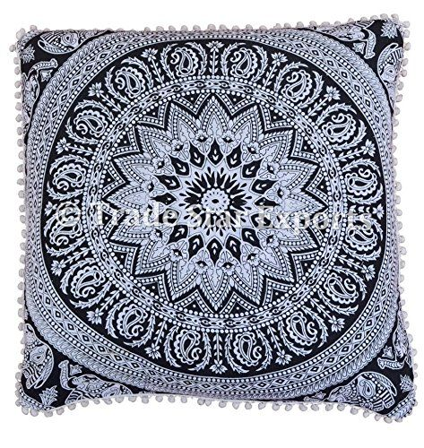 26 X 26 Mandala Euro Sham, Floral Cushion Cover, Paisley ... https://www.amazon.com/dp/B079TQKW3K/ref=cm_sw_r_pi_dp_U_x_2xNIAbNYGC195