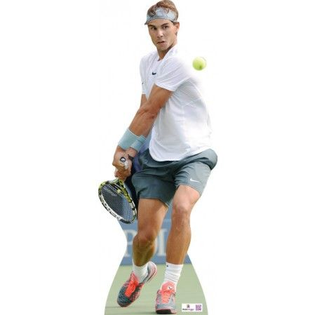 Rafa Nadal Cardboard Cutout 936  Height: 180cms approx   Spanish professional tennis player