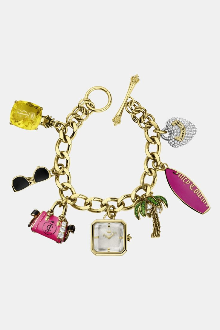 Juicy Couture 'glam' Charm Bracelet Watch By Juicy Couture On  @nordstrom_rack