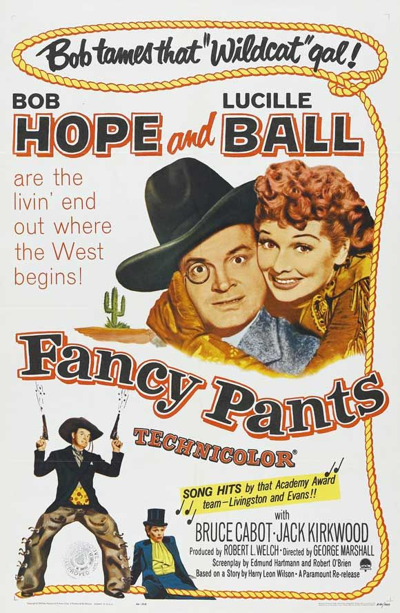 Over 1000 FREE western movies to watch - fancy-pants-1950-bob-hope-lucille-ball