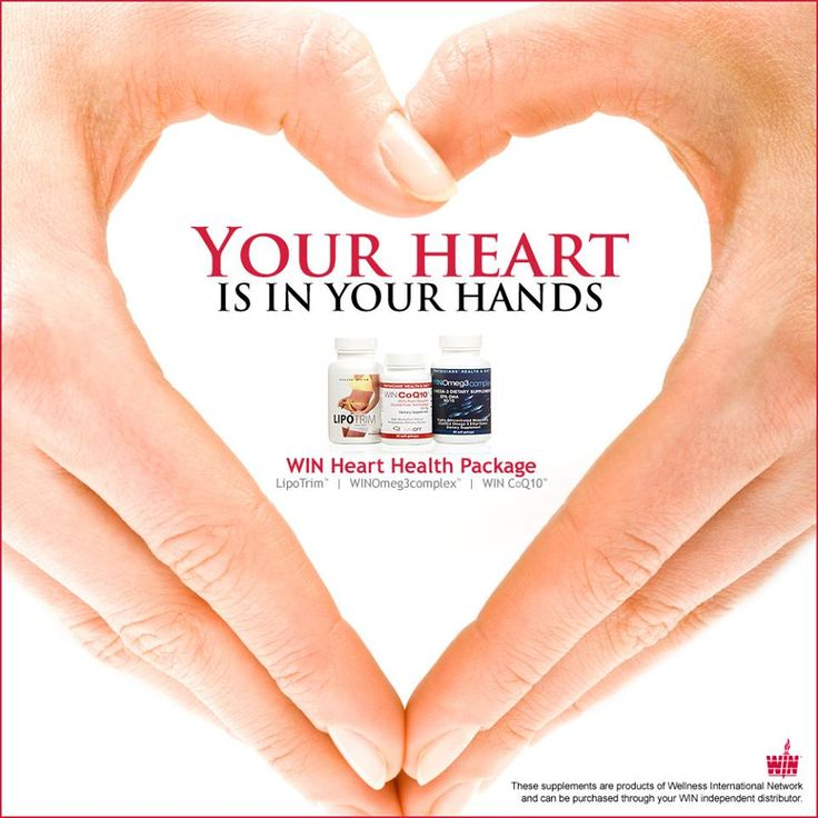 Your heart is in your hands. Wellness International Network heart health package. Available at www.maartensgezon... Order now in 4 languages and 40 countries.