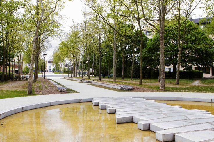 Requalification d'un parc urbain - Land'Act