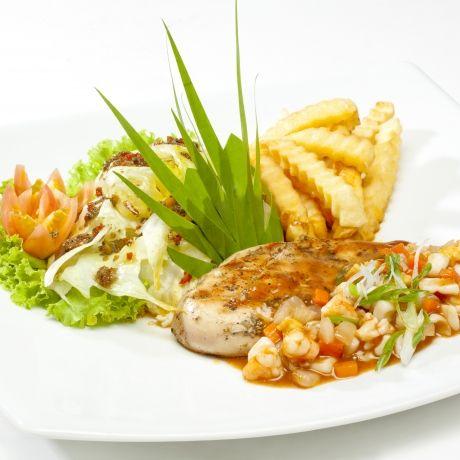 Yana Restaurant Thai & International Halal Food @ MBK Bangkok Thailand