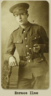 Pte. Horace Iles was just 14 when he answered the call, volunteering to join the Leeds Pals - 15th (Service) Battalion West Yorkshire Regiment - and dying on the first day of the Battle of the Somme, July 1, 1916. Horace's corpse lay in the mud of the Somme for nearly a year before being buried next to his friends.