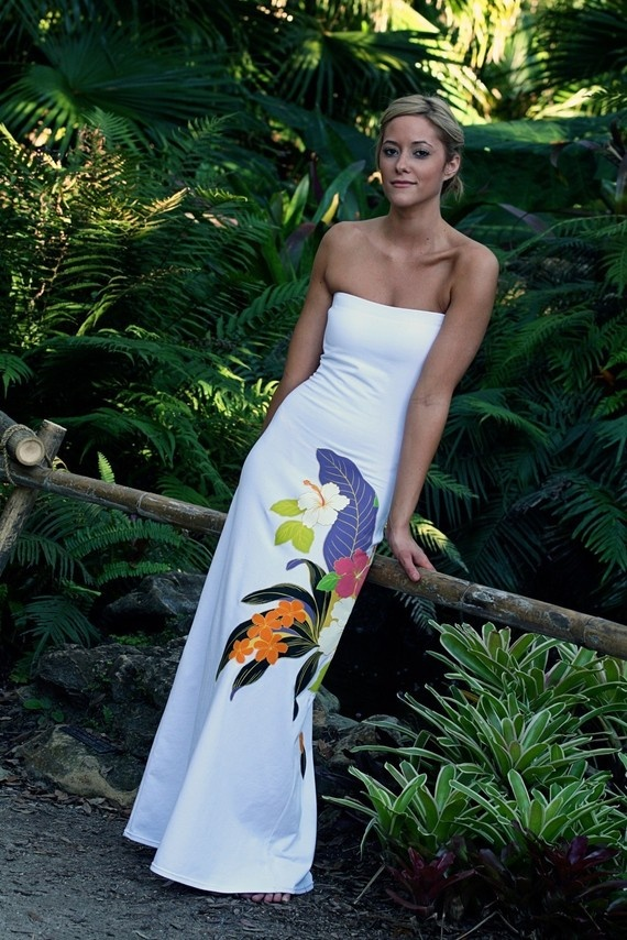 Beach Hawaiian Wedding Dress By Ishkabibblesdesigns On Etsy. $189.00, Via  Etsy. OMG,