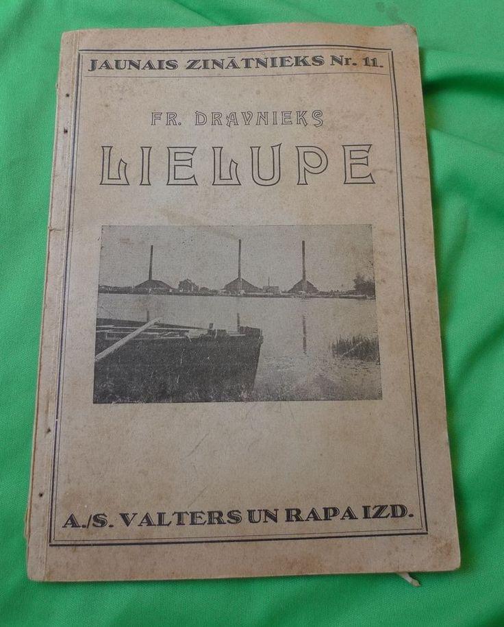 Latvian Old Valters un Rapa Magazine 1932 Jaunais Zinatnieks LIELUPE Dravnieks