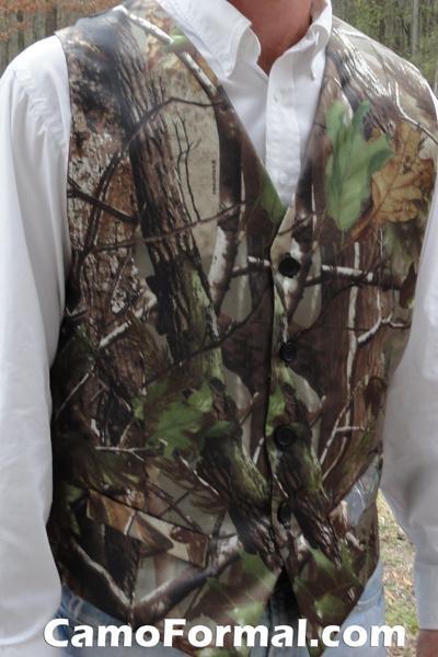 Men's Vest in Realtree AP