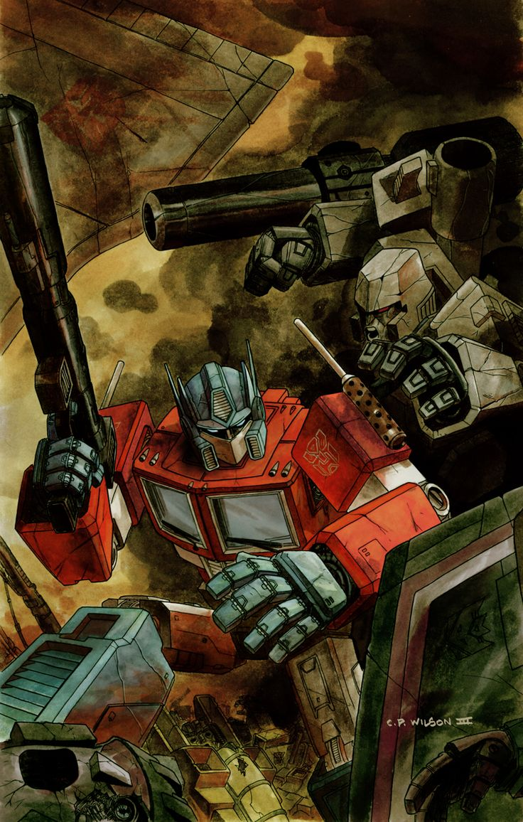 78 best images about transformers on pinterest gi joe - Transformers cartoon optimus prime vs megatron ...