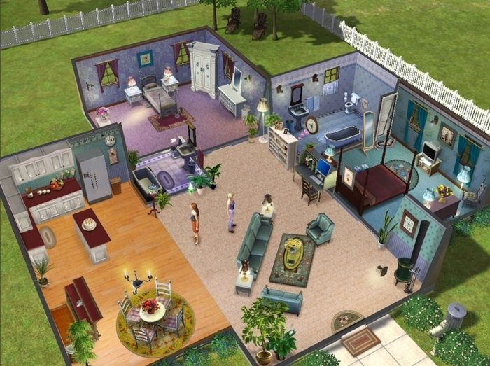 The Sims 3 Floor Plan