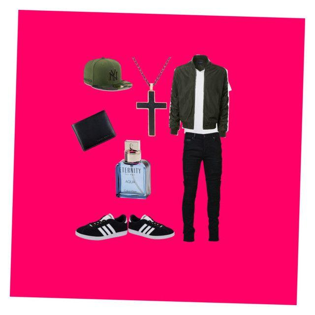 """Chris brown style"" by anniebrocoli12 on Polyvore featuring LE3NO, Marcelo Burlon, adidas NEO, Steve Madden, Status Anxiety, Calvin Klein, men's fashion et menswear"