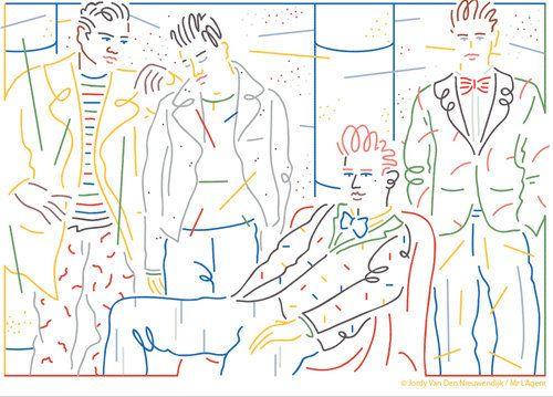 Les salons masculins de Paris