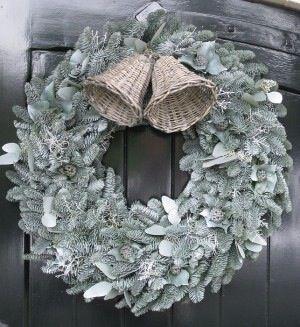 Kerst voordeur