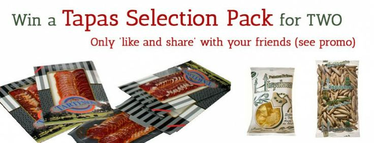 Win a Tapas Selection Pack for Two  Follow this link to participate: https://www.facebook.com/MediterraneanDeliGourmet/app_79458893817