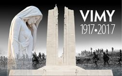 Vimy 1917-2017 Canada Remembers The Canadian National Vimy Memorial was designed by Canadian sculptor Walter Allward, who once told friends the design came to him in a dream. To mark the centennial of the Battle of Vimy Ridge, the tools will soon travel to France where they will be displayed in the new Visitor Education Centre at the Canadian National Vimy Memorial.