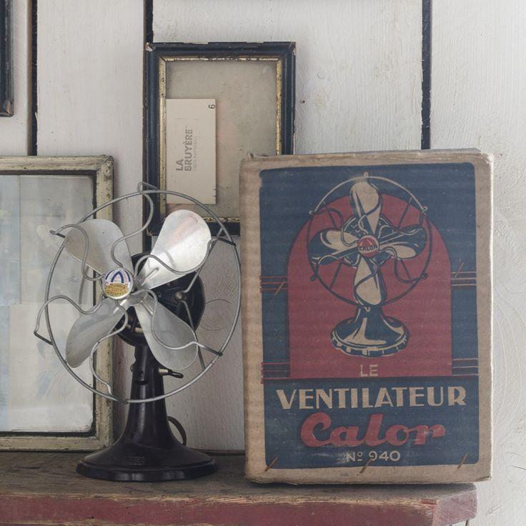ventilateur calor vintage fans and vintage fans. Black Bedroom Furniture Sets. Home Design Ideas