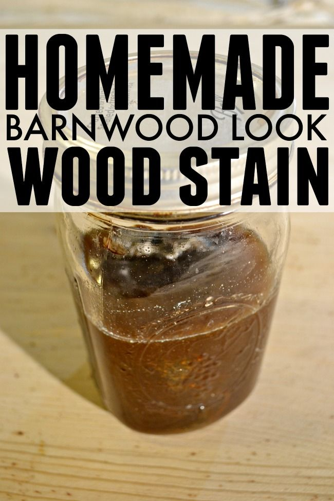 An easy and inexpensive way to stain your wood projects and make them look old. Love this stain!
