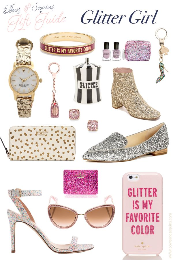 The best glittery holiday gifts! #bowsgg