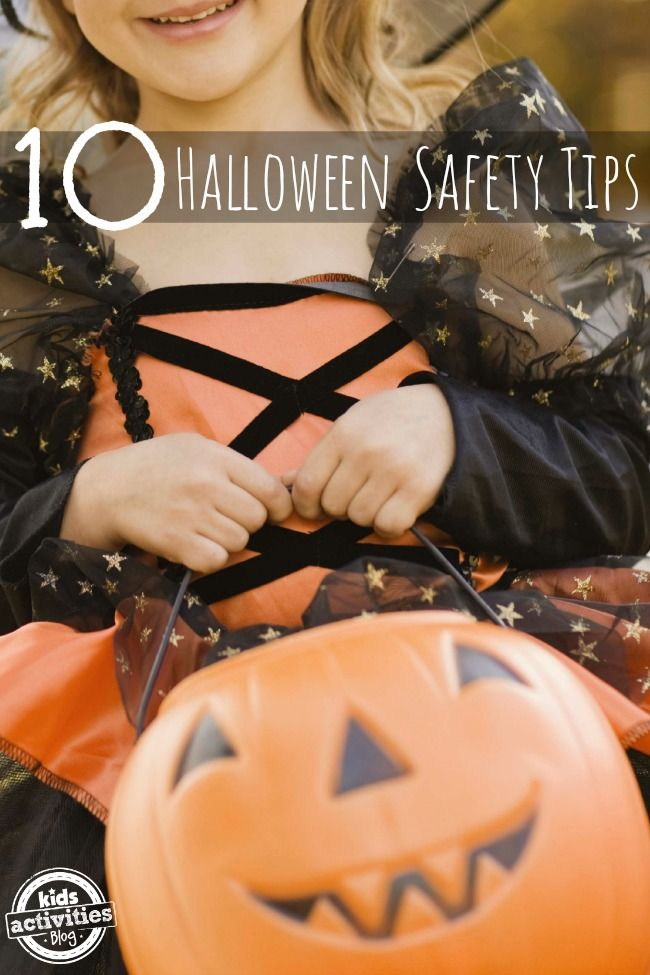 10 practical Halloween safety tips via @QuirkyMomma to make trick-or-treating fun and stress-free!