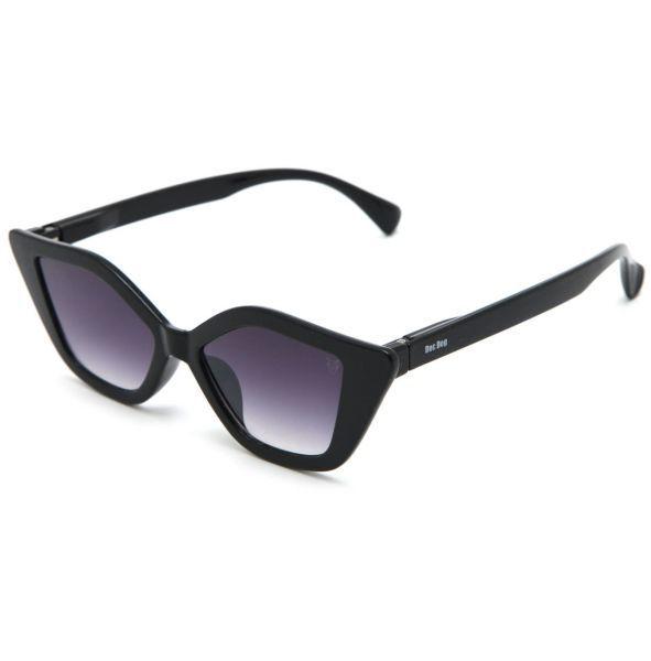 Oculos De Sol Doc Dog Geometrico Preto Doc Dog Detalhes Do