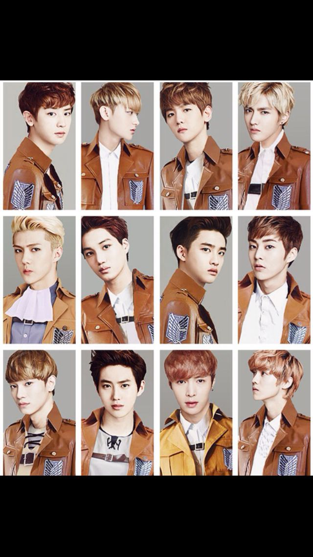 Sehun is totally Levi. I don't think anyone else but Sehun as Levi!