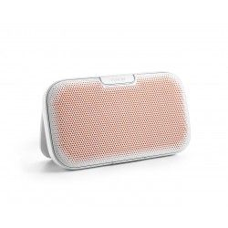 DENON Envaya przenośny głośnik Bluetooth White  DEN0002ESM Przenośny głośnik Bluetooth Denon Envaya™ wykorzystuje najnowsze technologie umożliwiając słuchanie muzyki, oglądanie filmów, wideo, telewizji lub granie w gry na urządzeniach mobilnych Bluetooth w najwyższej jakości.
