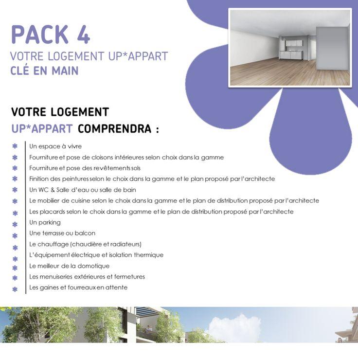Pack 4 : Votre logement UP*APPART clé en main