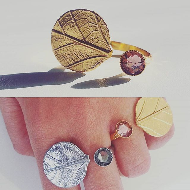 Little bit of sparkle #Ioli #rings 😍  #ring #thallo #thallojewelry #unique  #madeingreece #greek #thallovers  #silver #gold #love #fashion  #jewelry #instafashion #happiness #happy #swarovskicrystals #sparkle  #bloggers #bloggerstyle #travel #sea #melbourneblogger #australia  #melbourne